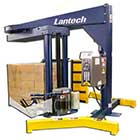 Lantech S-300 Semi Automatic Straddle Stretch Wrapping System